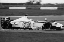BAR Honda 004 Anthony Davidson. photo . Silverstone test 2002 (B)